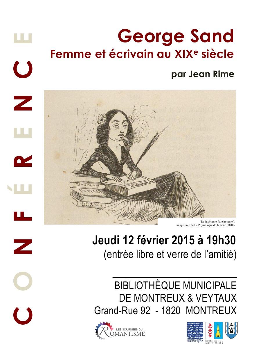 Conférence // Lecture // Bibliothèque // 12 Février // 19H30