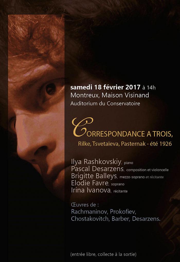 Journées-du-Romantisme 2017_Recital Semaine Russe