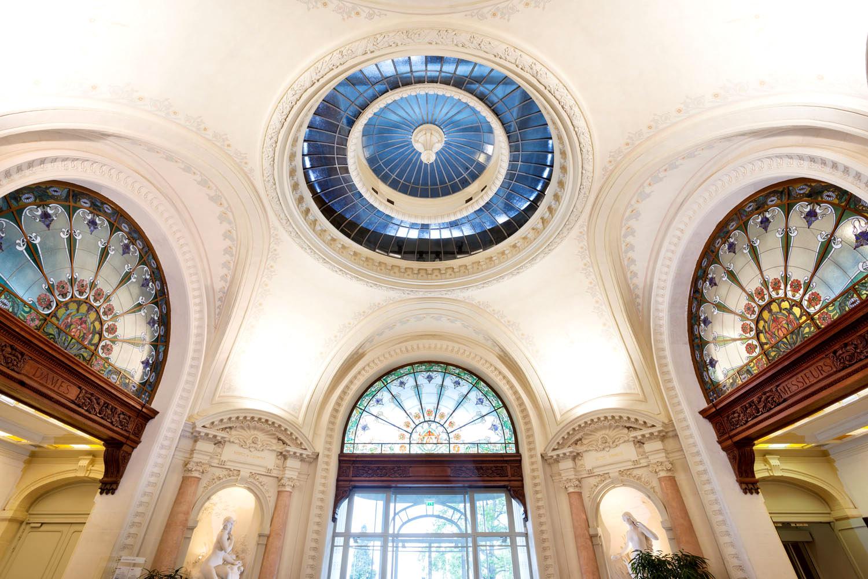 Evian / Palais des Lumières / Hall d'accueil