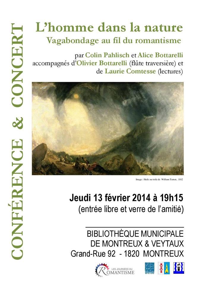 Conférence /// Lecture /// Concert /// Bibliothèque /// 13 Février /// 19H15