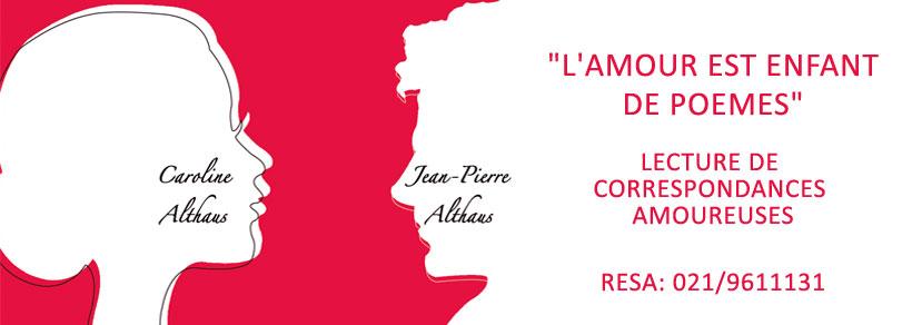 Lectures romantiques /// Théâtre Montreux-Riviera /// 15 Février /// 17H15