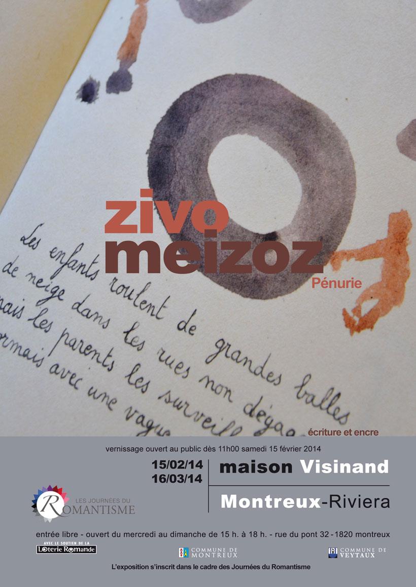 Exposition Zivo – Meizoz /// Vernissage /// Maison Visinand /// 15 Février /// 11H