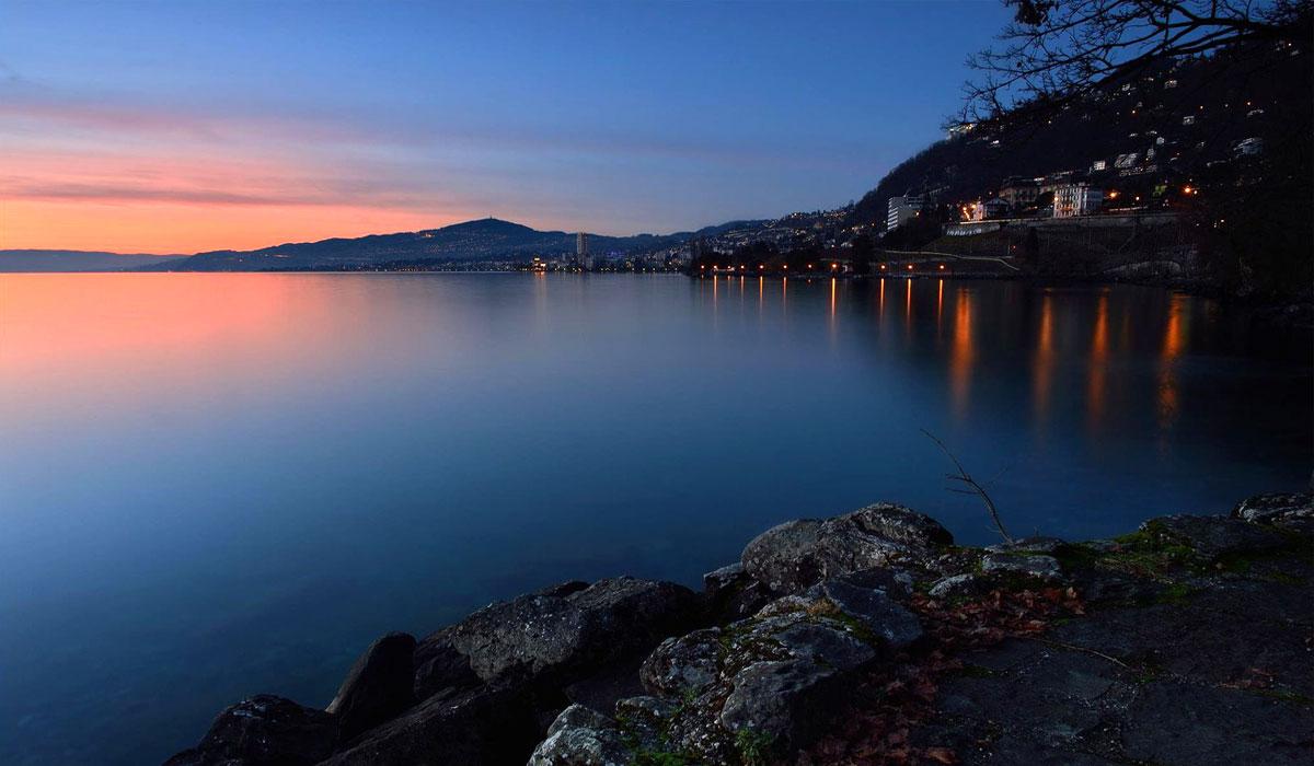 Montreux | Crépuscule sur la Riviera