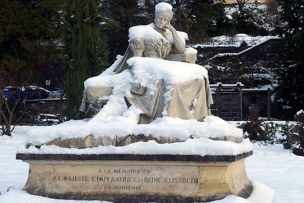 Montreux | Statue de Sissi l'Impératrice