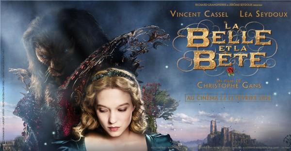 Evian // Cinéma // La Belle et la Bête // Médiathèque Ramuz // 14 février à 17h